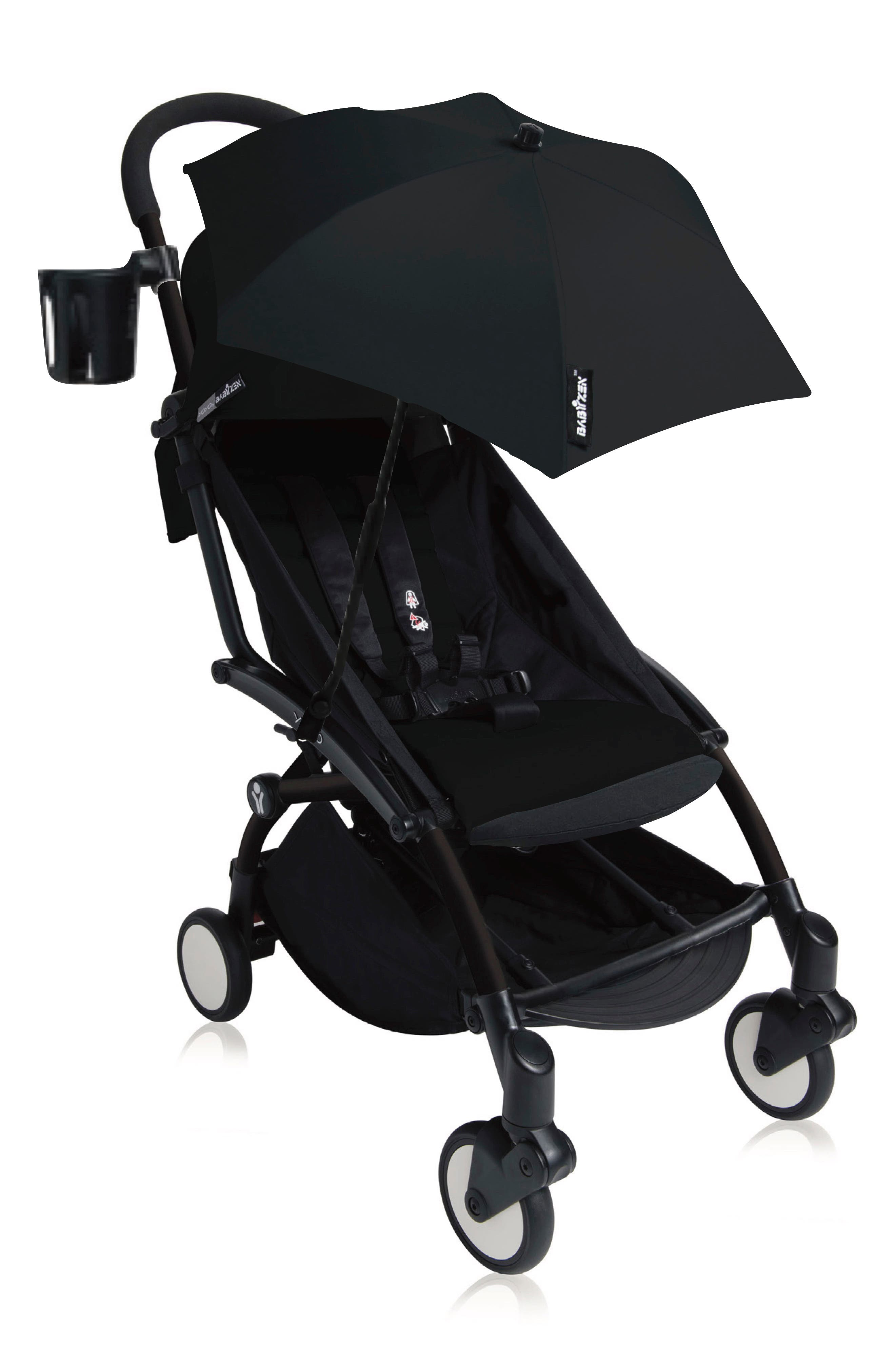 Black Baby Parasol Compatible with Hauck Viper